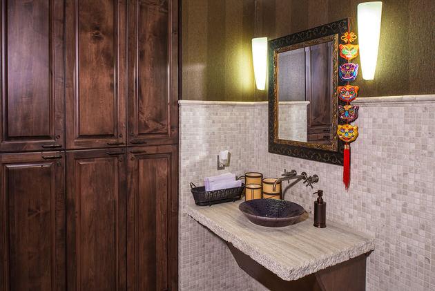 The Wall Center Bathroom