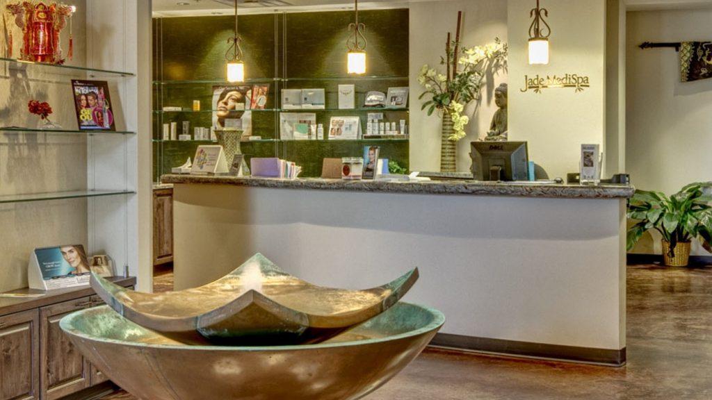 Jade Med Spa lobby