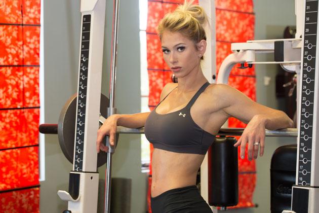 Heather Marsh at Gym