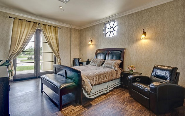 The Wall Center Bedroom